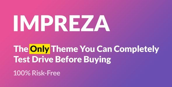 Impreza Nulled – Retina Responsive WordPress Theme