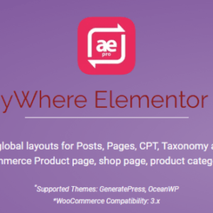 AnyWhere Elementor Pro Nulled