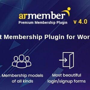 ARMember Nulled - WordPress Membership Plugin