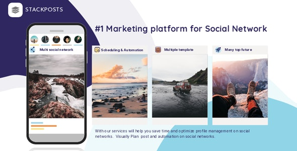 Stackposts Nulled - Social Marketing Tool Free Download