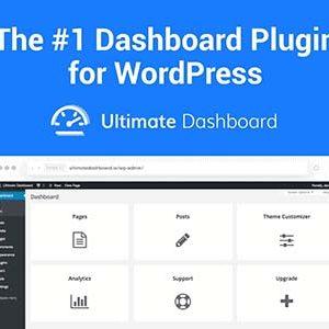 Ultimate Dashboard Pro Nulled – WordPress Dashboard Plugin