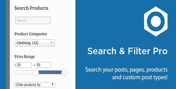 Search & Filter Pro – The Ultimate Filter Plugin
