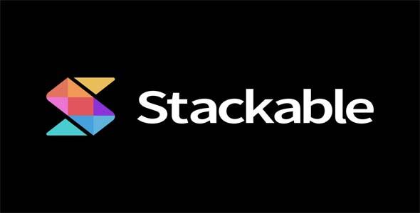 Stackable - Ultimate Gutenberg Blocks for WordPress